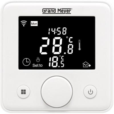 Терморегулятор Grand Meyer W330 программируемый/ WiFi  бел/крем