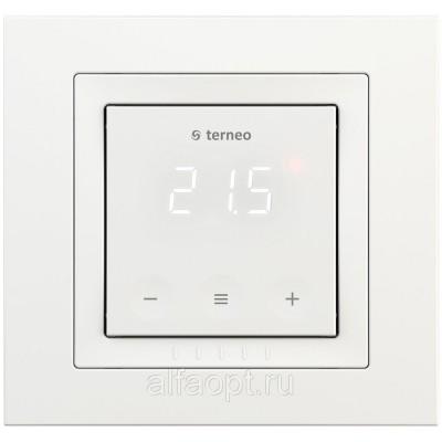 Терморегулятор Terneo SX программируемый/сенсорный/ Wi-fi  в рамку Schneider