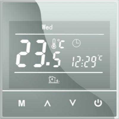 Терморегулятор STEM SET 17 SILVER программируемый/сенсорный