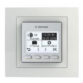 Терморегулятор Terneo PRO программируемый бел\крем в рамку Schneider
