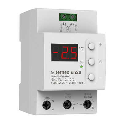 Терморегулятор Terneo sn 32А (для системы снеготаяния)